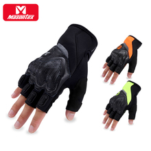Wholesale Dropshipping Summer Motorcycle Half Finger Gloves Men Women Biker Guantes Para Moto Motorbike Gloves Fingerless