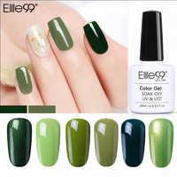 Elite99 10ml Grün Farbe UV LED Lampe Nagel Gel Polnisch Gelpolish DIY Nail art Hybrid Lack Soak Off Gel lack GelLak