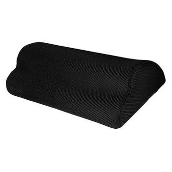 Podnóżek pod biurkiem miękka pianka poduszka do butów pod biurkiem poduszka podnóżka tanie i dobre opinie CN (pochodzenie) Massage Stałe Memory Foam 100 poliester Pamięci BODY Kwalifikacje Footrest Pillow Pad 0-0 5 kg