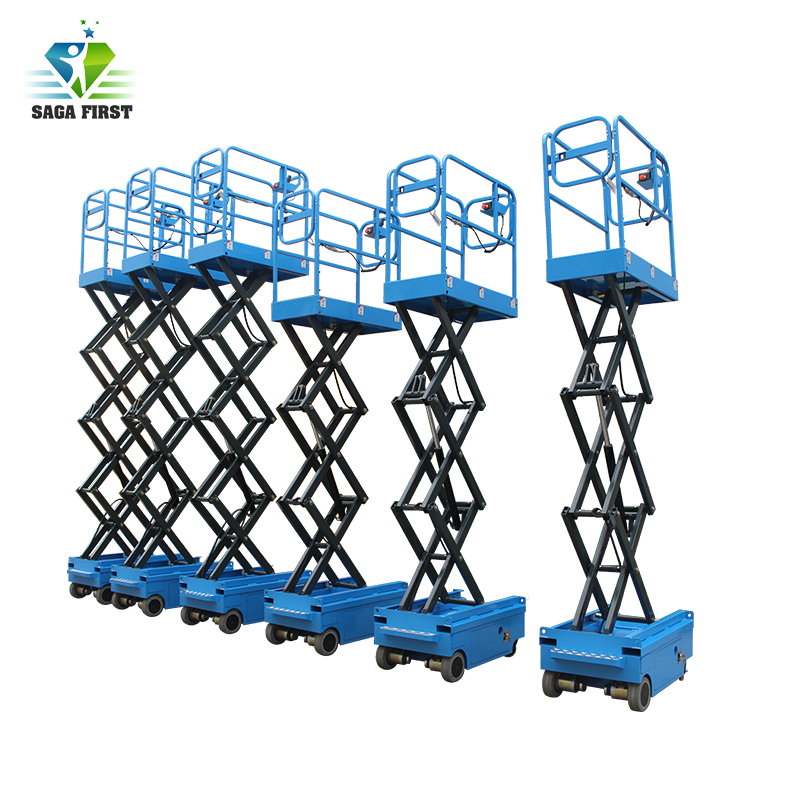 Hot Selling Full Electric Self Propelled Scissor Lift  Table Platform