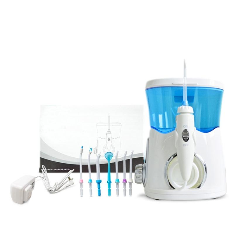 Oral Irrigator Dental Toothbrushing Irrigator Water Pulse Tooth Irrigator Water Jet for Brushing Teeth Cleaner 7x Nozzle 1x Toot