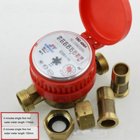 LXSG/R-13D~20D Rotor Dry Single Flow Hot Water Meter (Copper Shell)