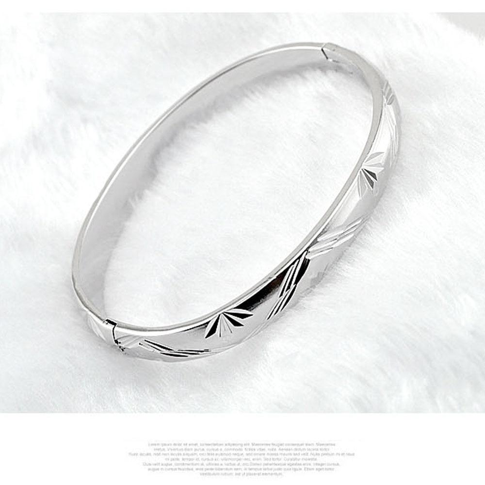 Hot Sale Mode Armreifen Schmuck für Frauen, 925 Sterling Silber - Edlen Schmuck - Foto 3
