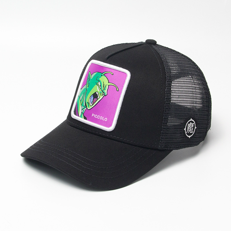 New Brand Piccolo Dragon Ball Snapback Cap Cotton Baseball Cap Men Women Hip Hop Dad Hat Trucker Mesh Hat Dropshipping