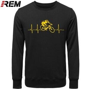 Image 4 - Hot sale Fashion Cyclings Heartbeat Standard Unisex  Hoodies, Sweatshirts
