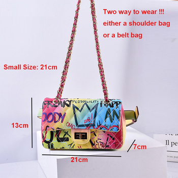 Colorful Rainbow Clutches 5