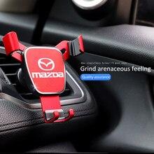 1Pcs Suporte Do Telefone Do Carro Automático com Sensor De Gravidade Aperto Bracket Suporte Para Mazda 2 3 4 5 6 7 323 626 CX5 CX7 CX9 RX8 MX3 MX5 Atenza Axela