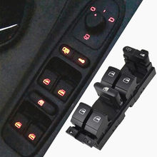 Hight qualidade mestre interruptor de controle da janela botão para vw 99-04 gti golf 4 jetta mk4 bora besouro passat b5 b5.5 assento leon toledo