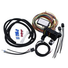 8 Circuit Universal Wiring Harness Kit for Muscle Car Hot Rod Wiring Street Rod Rat Rod for Ford Chevy