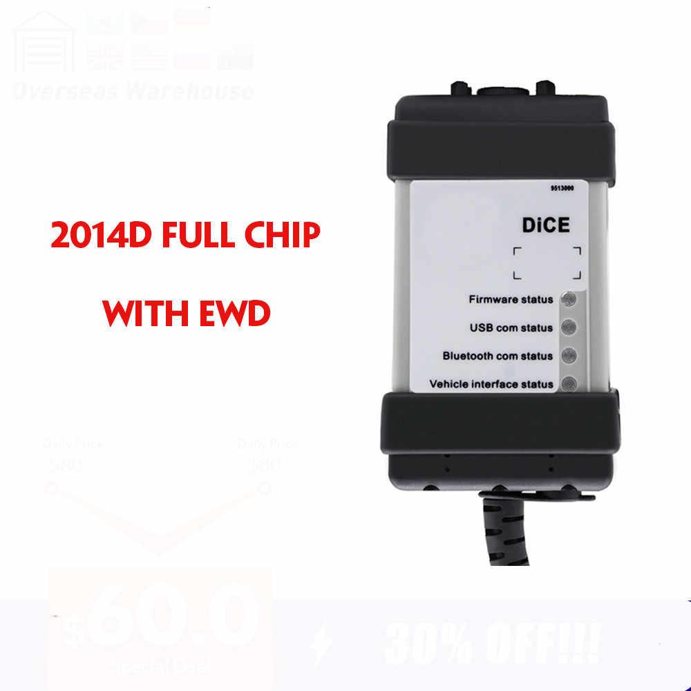 Full Chip Volvo Dice Pro Diagnostic Tool VIDA 2014D EWD 2014D