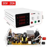 NCIE POWER 30V20A 4 digit DC Adjustable Lab Power Supply 30V20A 220V Voltage stabilizer Switching Laboratory Power Source