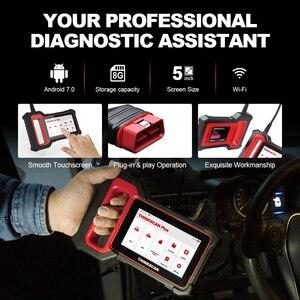 Image 4 - THINKCAR – Thinkscan Plus S4 outil de Diagnostic automobile, Scanner automatique, système ECM/TCM/ABS/SRS/BCM, OBD2, 3 réinitialisations optionnelles gratuites à vie