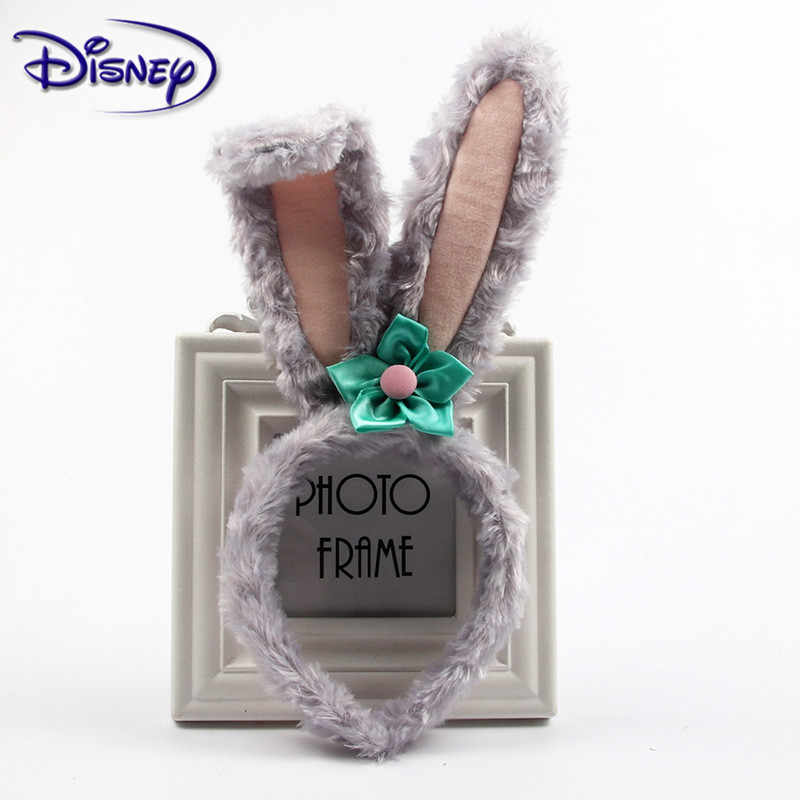Disney Duffy's Friend Stella Lou pałąk dziewczyny ozdoby do włosów na imprezę prezent Minnie duże ucho Cartoon Kawaii pluszowe zabawki urodziny prezenty