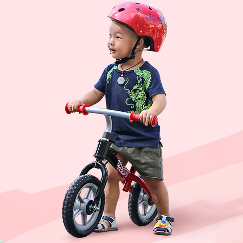 Hc0519f5eea464839858c457e747fbae2N 10 inch Children Balance Bike Kids Riding Bicycle Indoor Outdoor Balance Bicycle No Foot Pedal Baby Walker Riding Toy