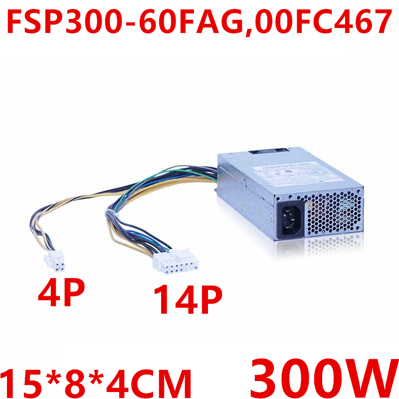 New PSU For Lenovo RS140 240 X3250 M6 1U 300W Power Supply FSP300 60FAG 00FC467|PC Power Supplies| |  - title=