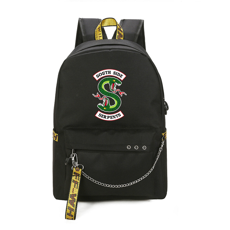 Riverdale Backpack Cosplay COS Props Backpack Men And Women Student Couples Adult Anime