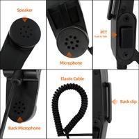 יד מתאם H250 סיכה כף יד רמקול ומיקרופון 6 PTT עבור PRC152 PRC148 טוקי מתאם (3)