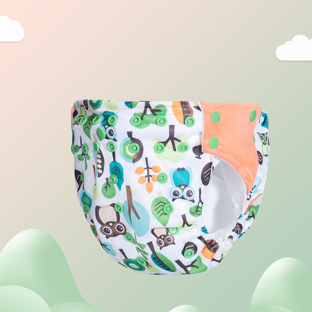 Baby Diapers Washable Reusable Nappies Training Pant Cloth Diaper Baby Version Diapers Adjustable Nappy Reusable Cloth pocket | Happy Baby Mama