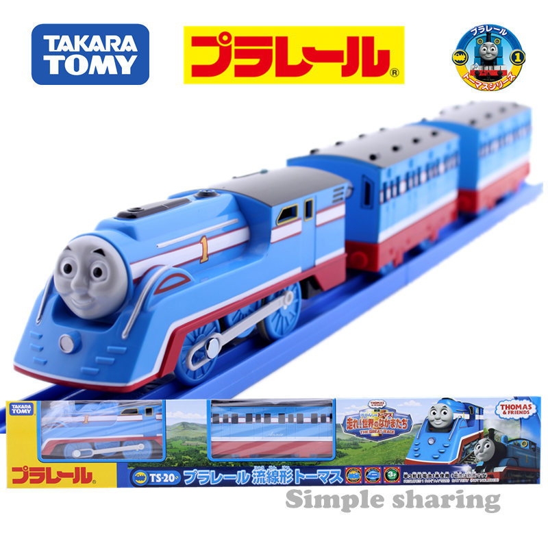 Takara Tomy Pla Rail Plarail Train & Friends TS-20 Stream-line Thomas Japan Railway Train  Electric Locomotive Model Toy