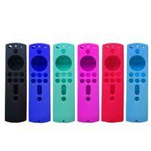 ซิลิโคนป้องกันกรณีเปลือกสำหรับ Amazon Fire TV Stick 4K รีโมทคอนโทรล N0HC