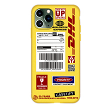Etui z logiem DHL do iPhone 7/8/X/XR/11 PRO