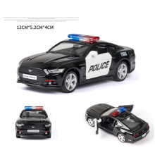 Hot 1:36 scale wheel Ford Mustang GT diecast police sport muscle car metal model pull back vehicle alloy toy collection for gift new arrival gift pnmr 1 18 large metal model car sport drive model scale alloy collection vehicle toys car pro fans show