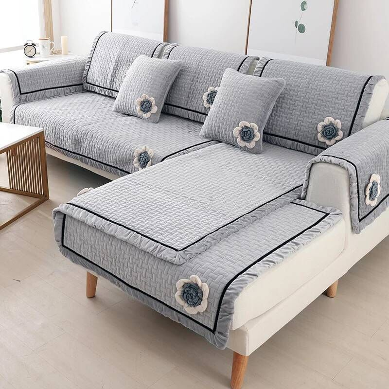 Sofa Covers Towel Solid Color