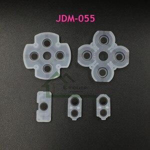 Image 3 - أفضل جودة LR لوحات مطاطية موصل ل PS4 JDM001 JDM011 JDM030 JDM055 ل PS3 تحكم أزرار الاتصال المطاط