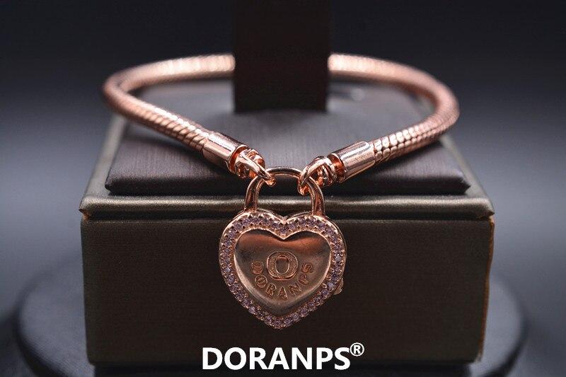 DORANPS bijoux fins bracelets pour femmes breloque coeur bracelets bracelet faisant des bijoux à bricoler soi-même pour les cadeaux danniversaire