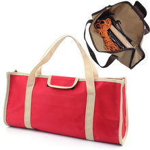 Durable Muti-Purpose Tool Bag Organizer Wide Mouth Tool Bag with Carrying Handle| Polyester 1680D Moving Bags for Camping