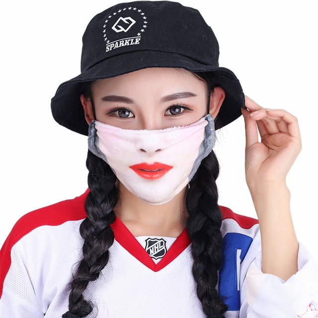Kawaii Mouth Mask Kpop Cute Face Mouth Mask Dust Masks Fashion Anime Cotton Masks Mascarillas Protective Mask 2