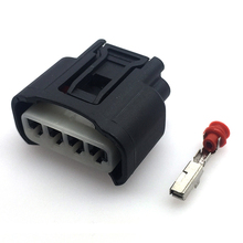 2 sets 4 pins Ignition Coil Plug Connector For Toyota Lexus Camry Corolla Rav4 Highlander 1pcs for corolla camry corolla lexus gearbox switch plug connector used