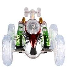 цена на Funny Mini RC Car Remote Control Toy Stunt Car Monster Truck Radio Electric Dancing Drift Model Rotating Wheel Vehicle Motor