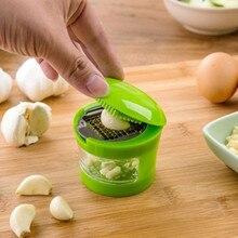 Chopper Slicer Crusher Garlic Grater Hand-Presser Mini Grinder Kitchen-Tool Stainless-Steel