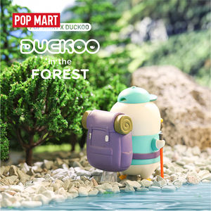 Image 2 - POP MART Duckoo Duck figure in the forest Blind Box Doll Binary Action Figure Birthday Gift Kid Toy