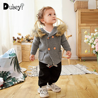 Infant Toddler Baby Knitted Cardigan Sweater for Winter Boy Girl Cardigan Knit Sweater Child Outerwear Baby Top Clothing