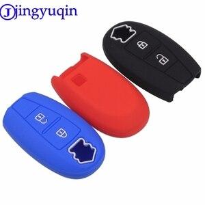Jingyuqin 2/3 кнопки автомобильный Стайлинг Чехол защитный держатель чехол для ключей чехол для Suzuki Swift Sport Sx4 Scorss Grand Vitara