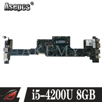 NBMBK11007 48.4LZ02.011 Main Board For Acer aspire S7 392 Laptop Motherboard MB 12302 1 I5 4200U CPU 8GB Ram