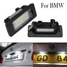 Ampoules Led pour BMW E39, E60, E61, E82, E90, E91, E92, E93, X5, X6, éclairage de plaque d'immatriculation, assemblage Canbus, 2 pièces