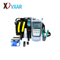FTTH Fiber Optic Tool Kit with Optical Power Meter and Visual Fault