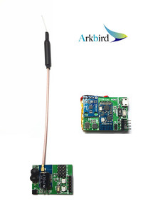 Arkbird FPV Wireless Head Tracker/ Head Sensor With transmitter TX and Receiver RX(China)