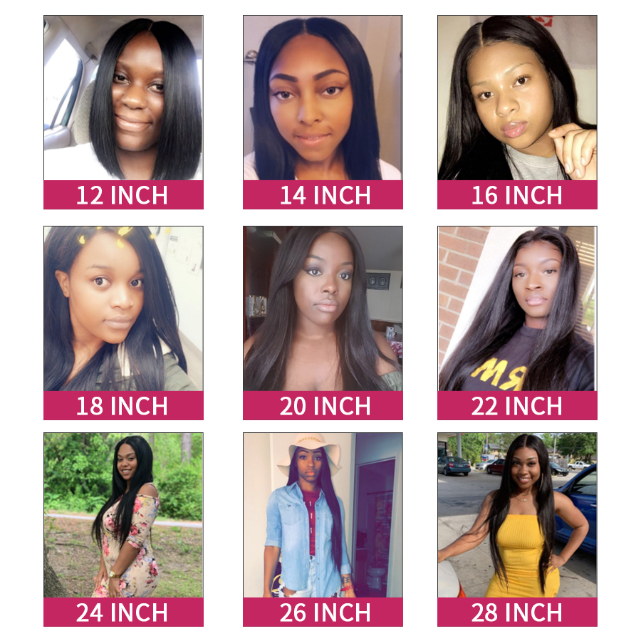 Hc0547bad28714b3a90d8e8fb19ea39deN Straight Hair Bundles With Frontal Peruvian Hair Lace Frontal With Bundles 3 Human Hair Bundles With Closure Oxeye girl Non Remy