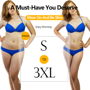 Image 5 - Vaslanda Vrouwen Thong Bodysuit Latex Zweet Vetverbranding Shapewear Taille Trainer Butt Lifter Body Shaper Afslanken Ondergoed