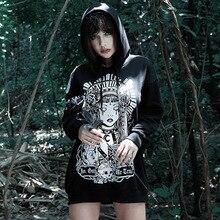Modecrush Oversized Hoodies Sweatshirts Russian Gothic Punk 2019 Harajuku Pollover Hoodie Ladies Kawaii Clothes