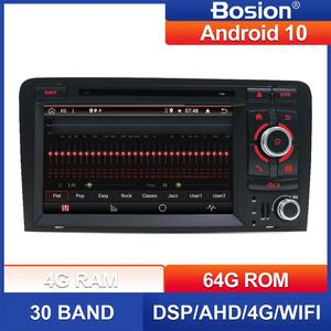 For Audi A3 S3 2006-2011 2 din android 10 car multimedia dvd player GPS Navigation radio stereo Audio Bluetooth SWC BT WIFI FM(China)