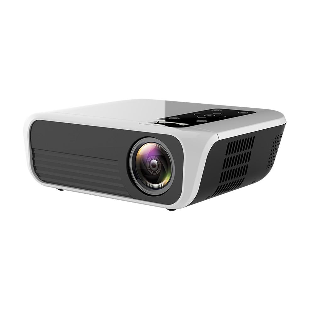 T8 Volle HD LED Projektor Android Tragbare Video Projektor 1920*1080P HDMI L7 Projektor 5000 Lumen Heimkino 4K Media Player