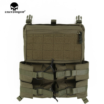 Emersongear LXB Style Banger Back Panel For 420 Tactical Banger BackPack Back Panel 420 Tactical Vest Bungee Panel Drop Pouch mesh panel iridescence backpack