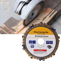 5 дюймов 22 мм диаметр 9 зубная бензопила диск для угловых шлифовальных машин циркулярная пила Лезвие для обработки древесины резки древесин...