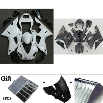 Unpainted ABS Plastic Molded Injection Bodywork Fairing Kits For Yamaha YZF R1 1998 1999