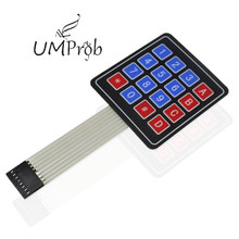 16 Key Membrane Switch Keypad 4X4 Matrix Keyboard for arduino Diy Kit(China)